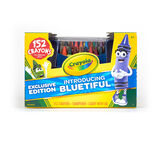 152ct- Crayons Bluetiful with Blue Caddy