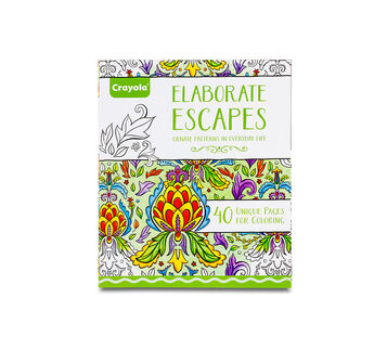 Elaborate Escapes Coloring Book