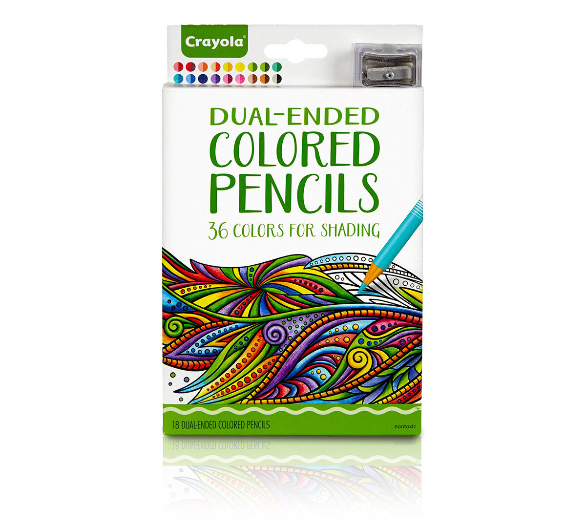 Crayola Dual-Ended Colored Pencils; Art Tools; Complementary Colors ...