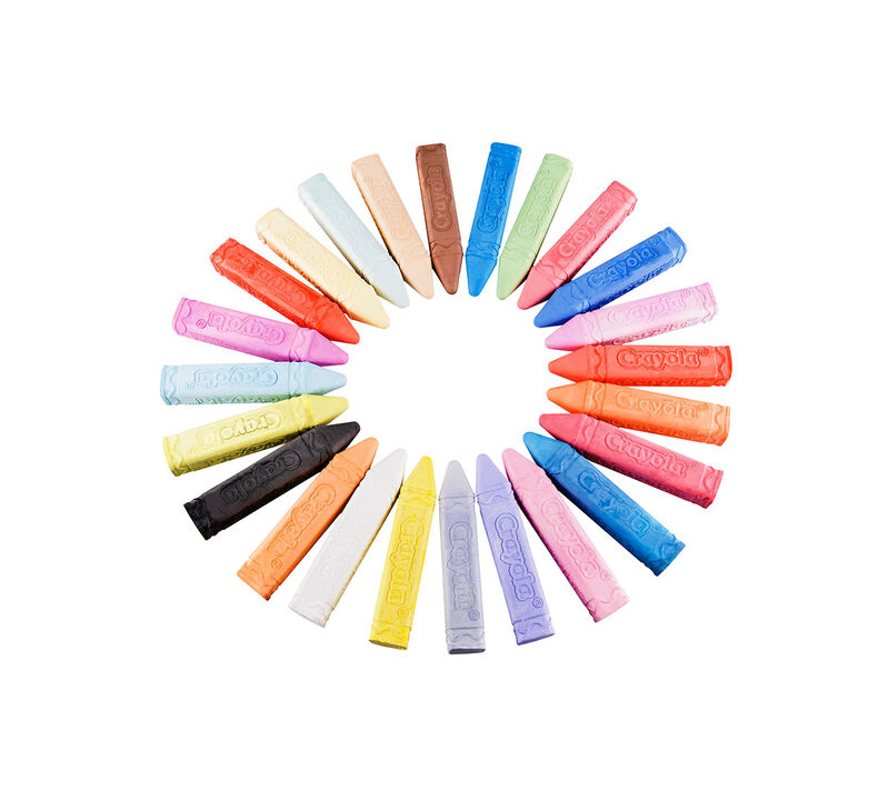 Sidewalk Chalk, 24 Count