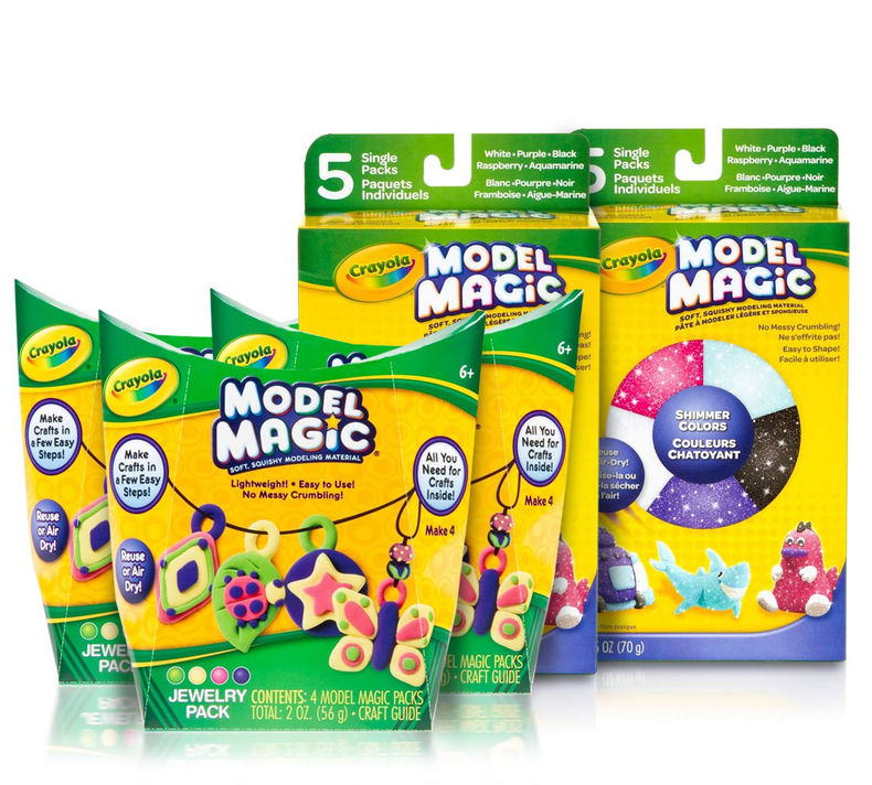 Jewelry Making with Model Magic Craft Party Kit