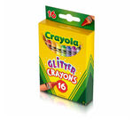 16 Count Crayons Glitter  front of package