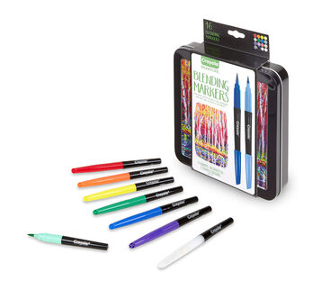 Signature series 16 count Blending Markers packaging and content