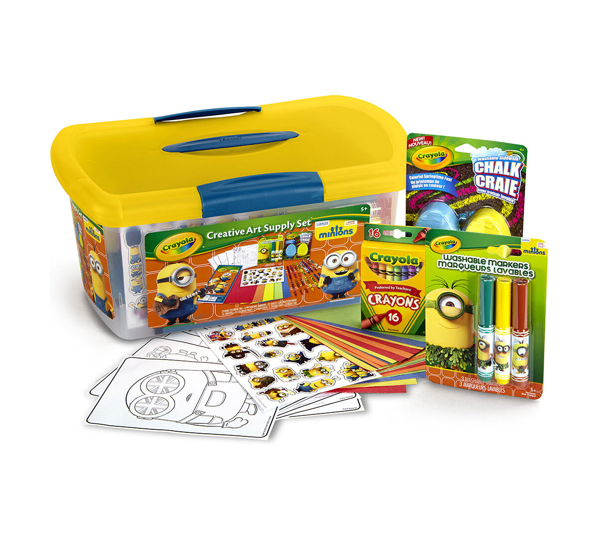 Creative Art Supply Set – Minions