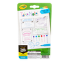 Take Note Washable Felt Tip Pens, 6 Count Back View