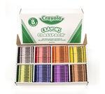 800 Count Classic Crayola Crayons Classpack, 8 Colors