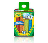 12 count washable Sidewalk Chalk