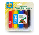 My First Washable Tripod Grip Markers 8 count front of package