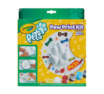 Crayola Pets Paw Prints Keepsake Kit, Moon