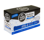 Take Note Blue Dry Erase Markers, 12 Count Front View