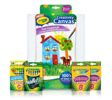 Crayon Melter Refill Kit - Special Effects with White Canvas Pack