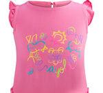 Pink Toddler Crayola Banner Dress