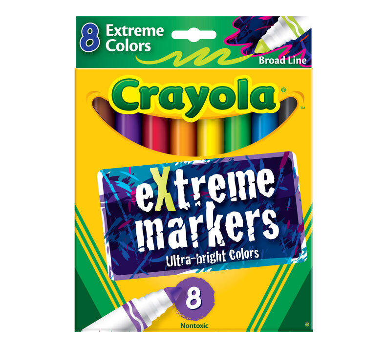 Extreme Markers 8 ct