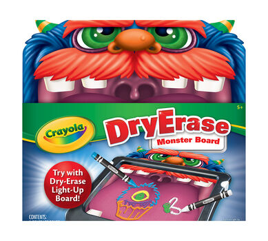 dry erase monster board crayola