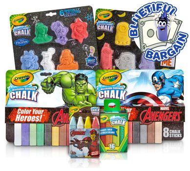 Frozen, Despicable Me & Marvel Avengers Toy Value Set