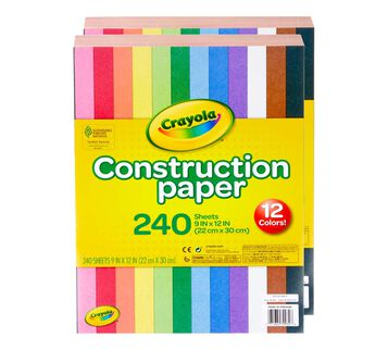 Construction Paper 240 ct. - 2 Pack Bundle