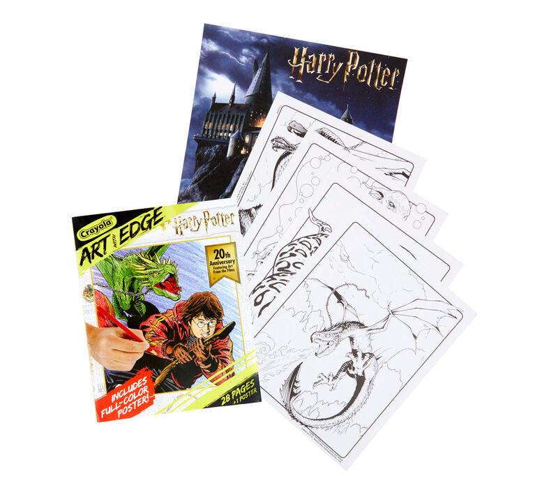 Art with Edge Harry Potter Coloring Book