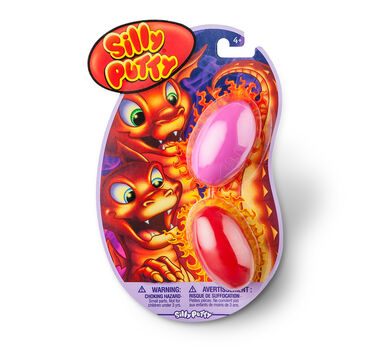 Silly Putty 2ct Variety Pack - Pink/Red