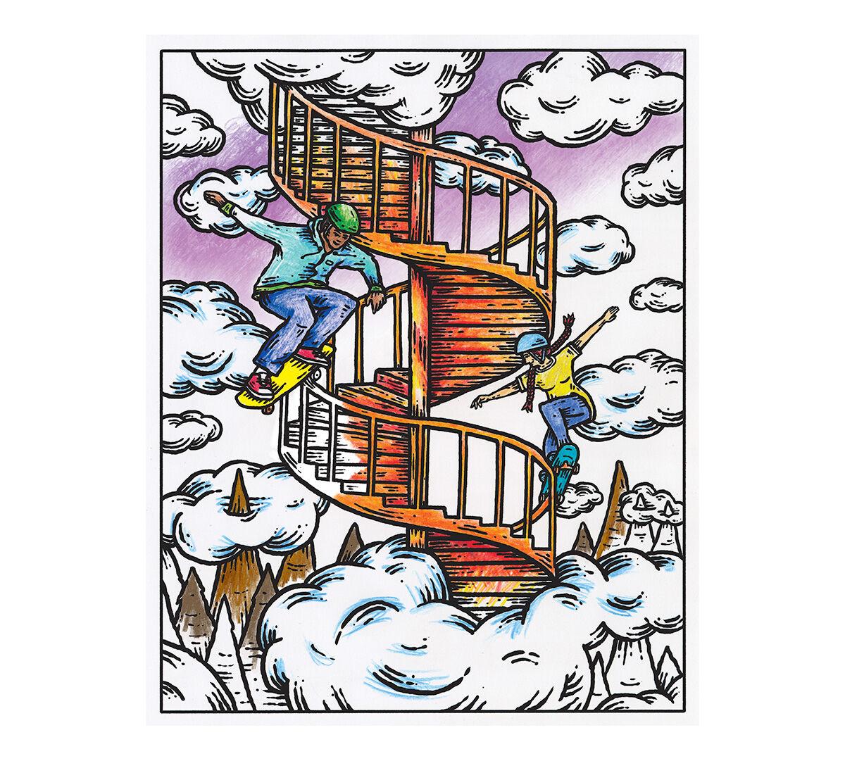 Art with Edge, Get Surreal - Crayola