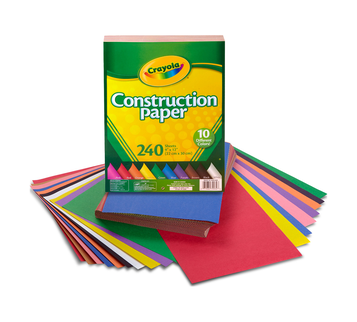 Construction Paper, 240 Sheet