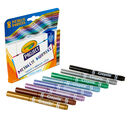 Metallic Markers, 8 Count Packaging and Content