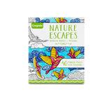 Nature Escapes Coloring Book