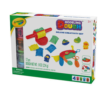 Crayola Modeling Dough Deluxe Creativity Set
