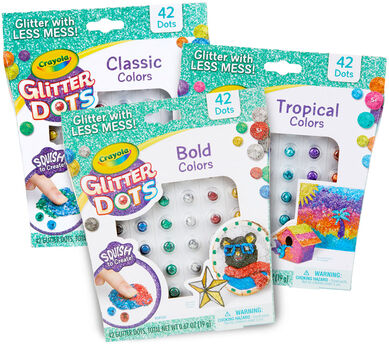 Glitter Dots Complete Refill Set, 504 Count