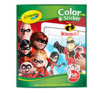 Crayola Color and Sticker Book, Incredibles 2 Front Cover