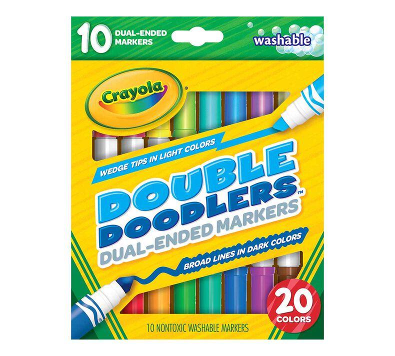 Double Doodlers Dual-Ended Marker Set