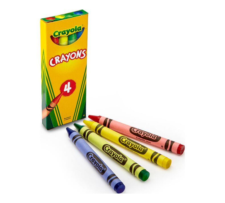 360 Box Classpack of 4 Count Crayons