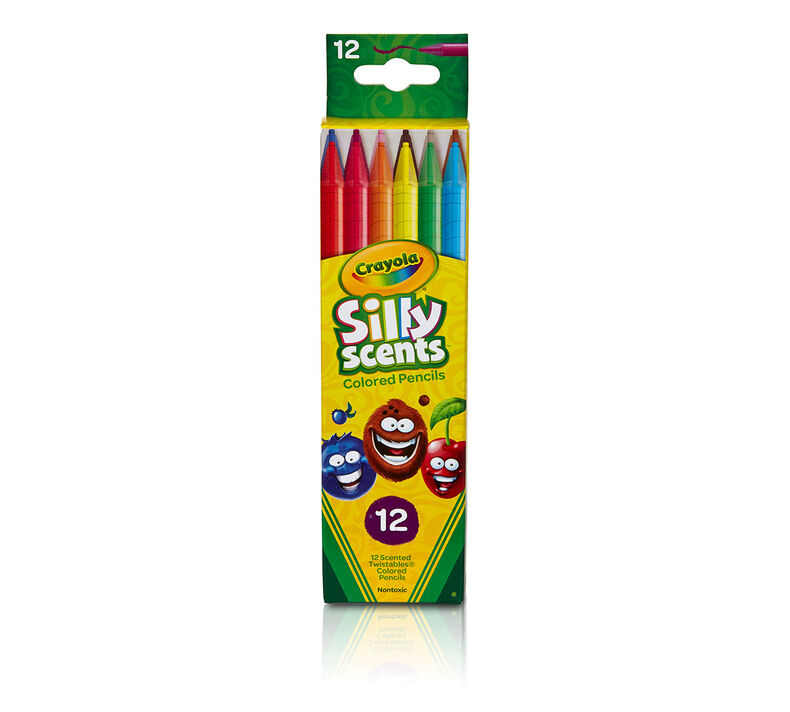 Silly Scents Twistables Colored Pencils 12ct