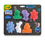 Washable Chalk Shapes, Frozen, 6 count
