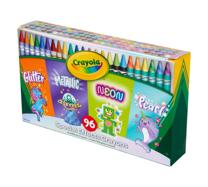 Special Effects Crayon Set, 96 Count