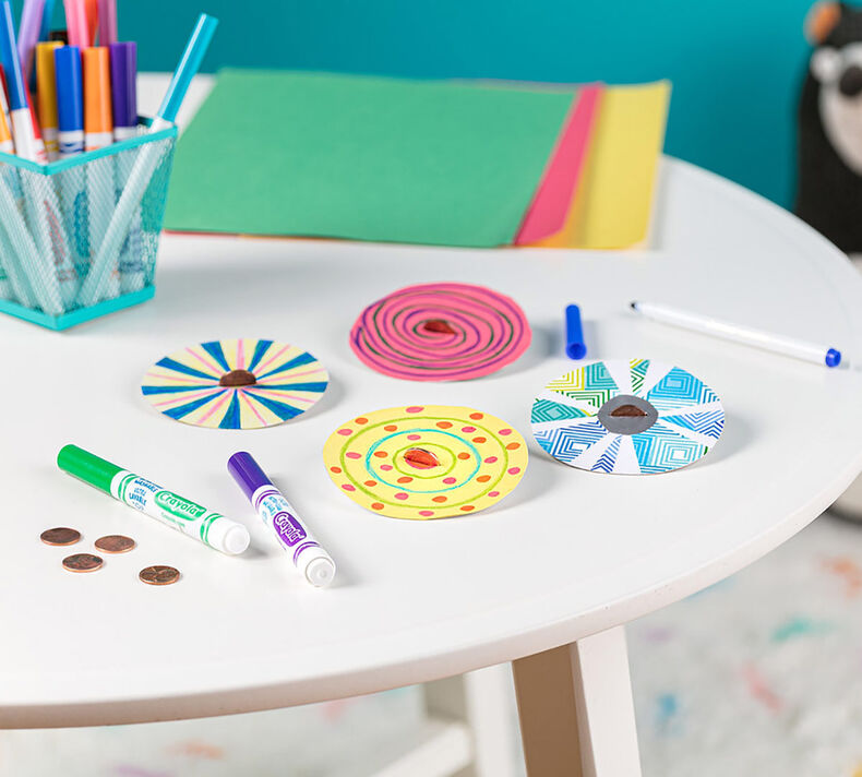 Penny Paper Spinners Craft Kit