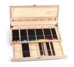 Color Escapes Wooden Art Case