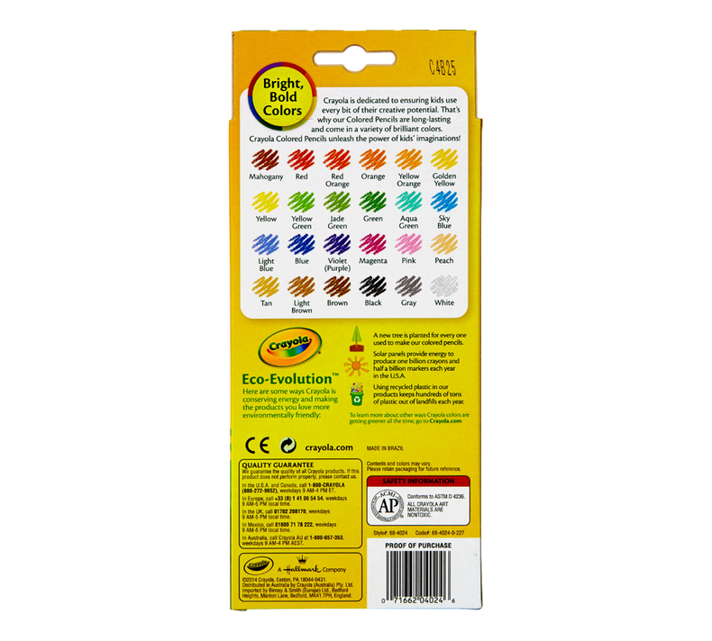 Colored Pencils, 24 Count