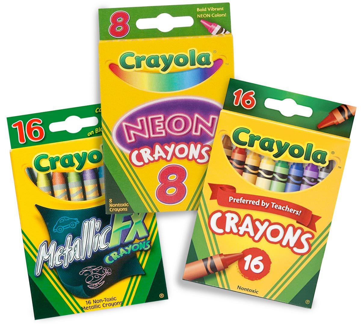 Crayola crayon making machine