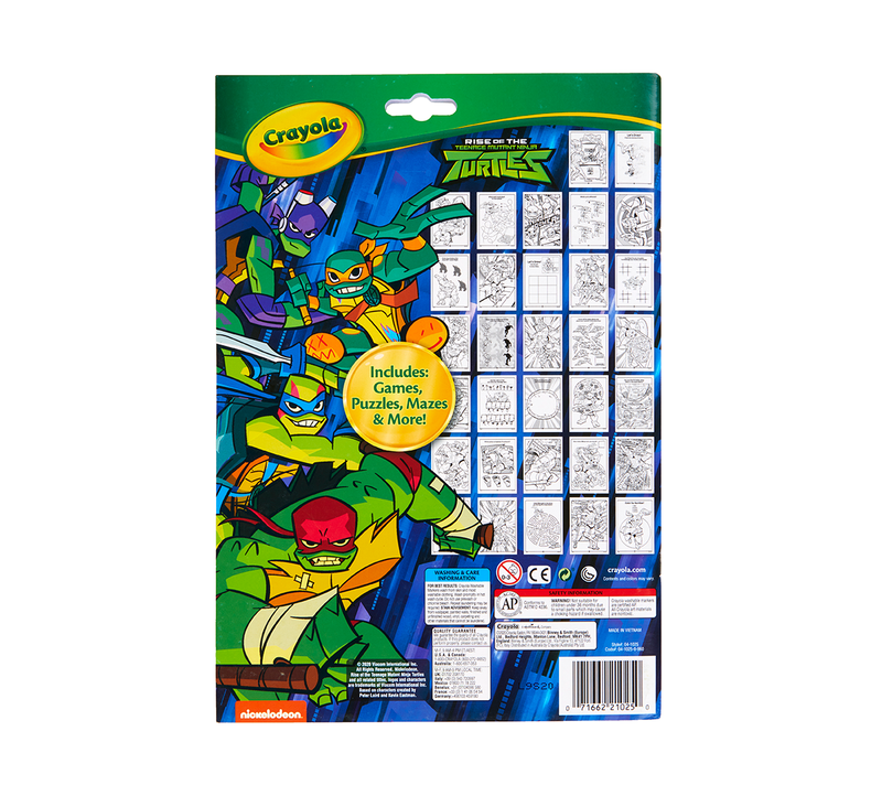 Teenage Mutant Ninja Turtles Color & Activity Set