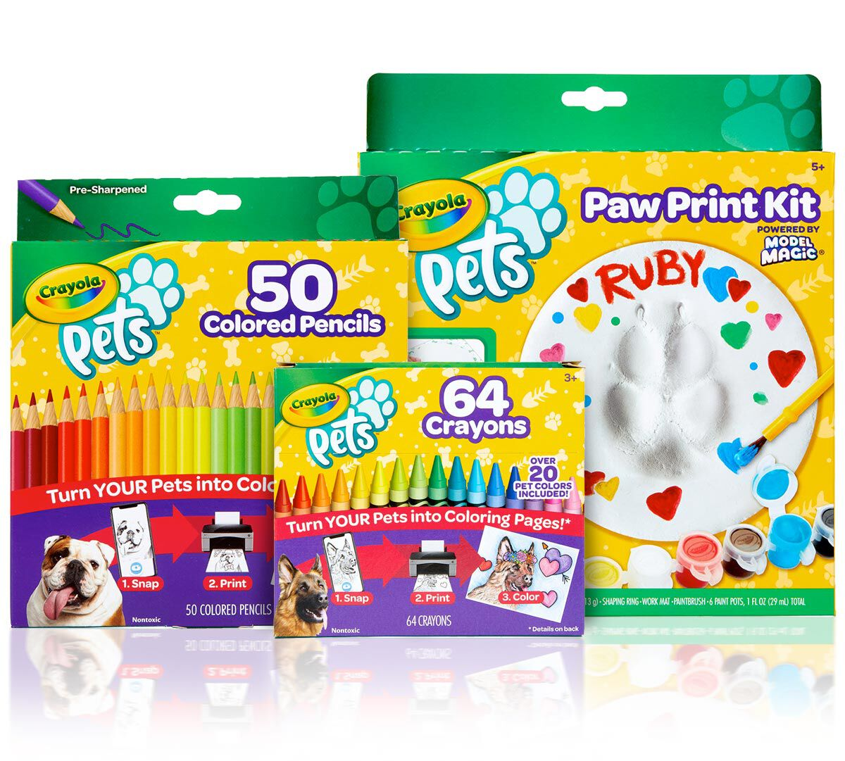 3-in-1 Crayola Pets Gift Set
