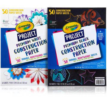 Premium Construction Paper, 50 Sheets, Choose Your Color