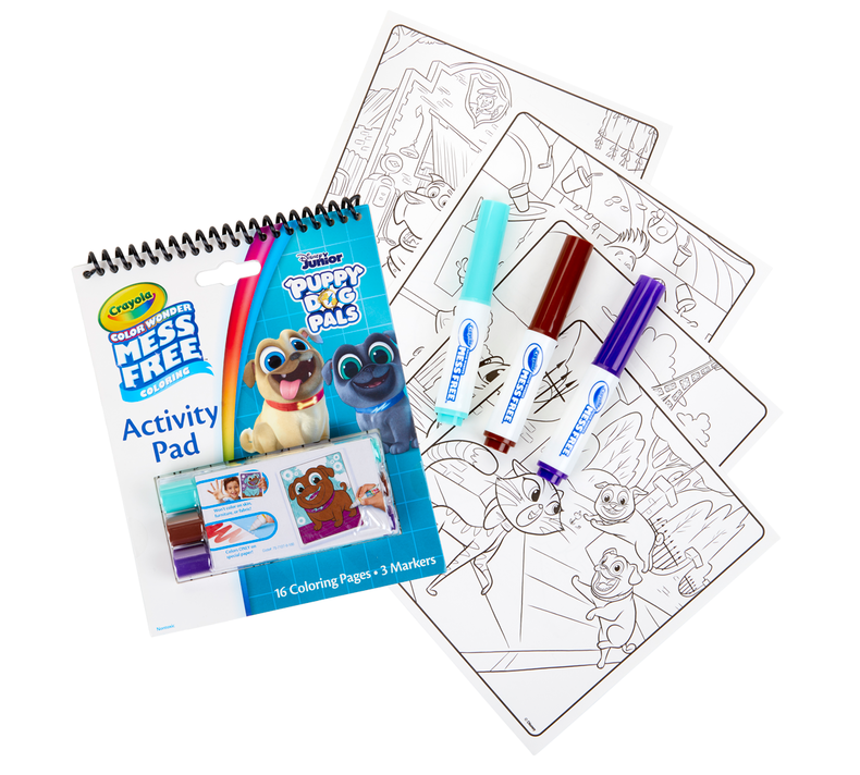 Color Wonder Mess Free Puppy Dog Pals Activity Pad