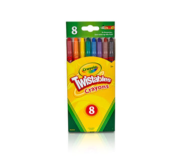 Twistable Crayons 8 Count