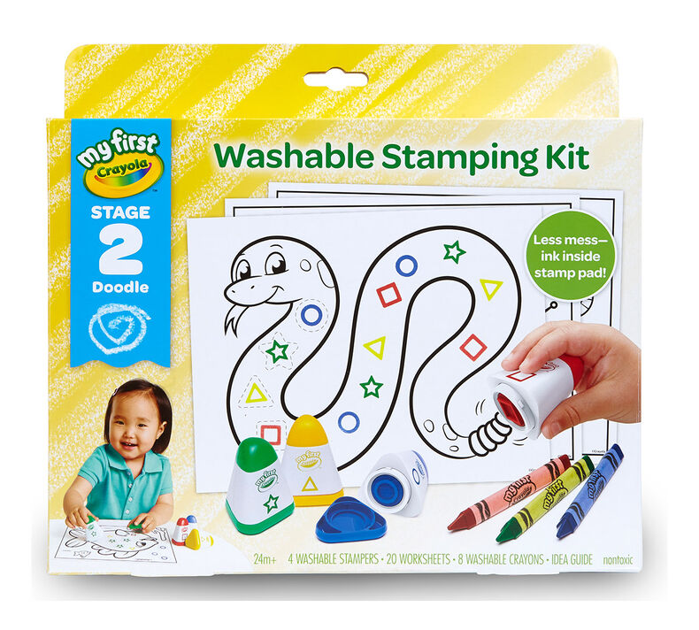 My First Crayola Washable Stamping Kit