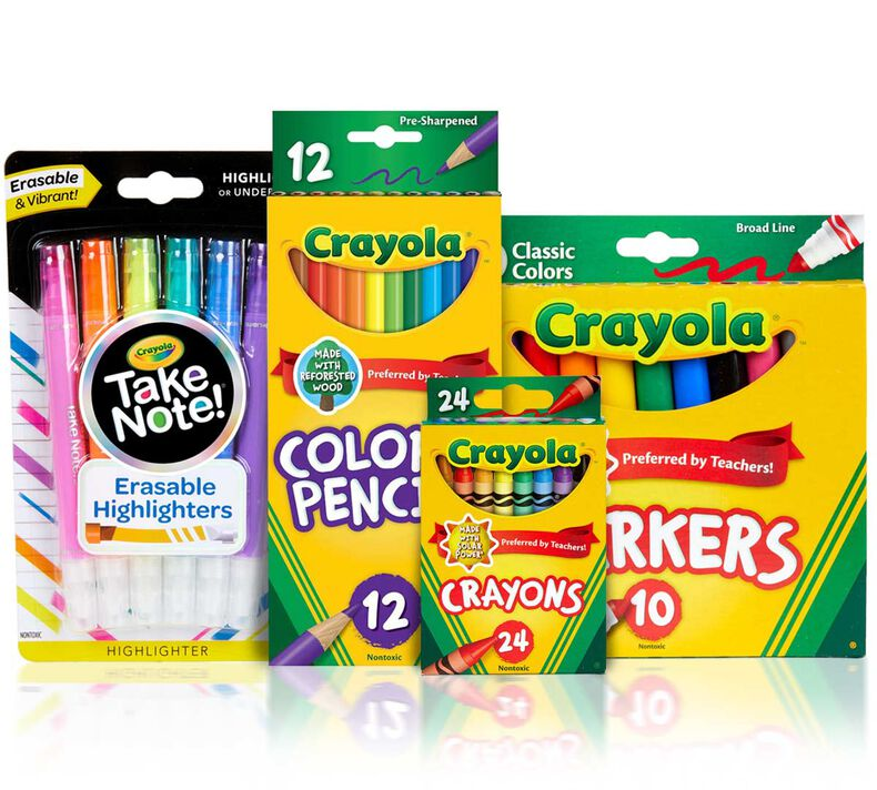 Essential Back to School Supplies Kit - You Pick