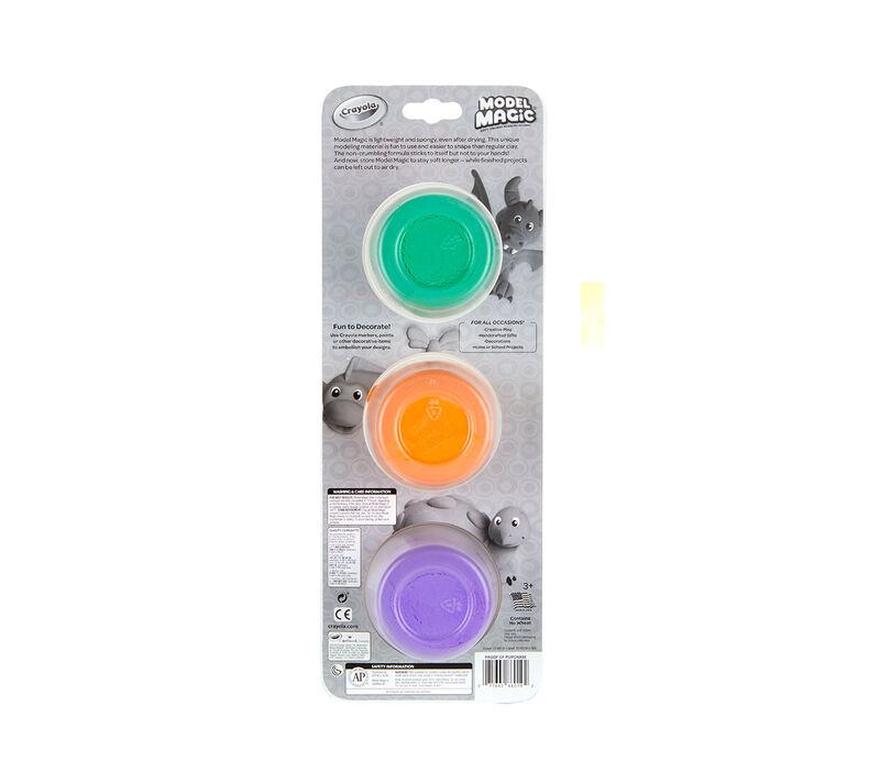Model Magic Reusable Tubs, Secondary Colors 3 ct.