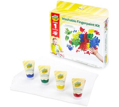 My First Crayola Fingerpaint Kit