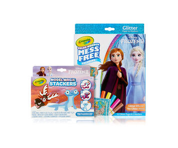 Color Wonder Mess Free Frozen 2 Set & Stackers Craft Kit