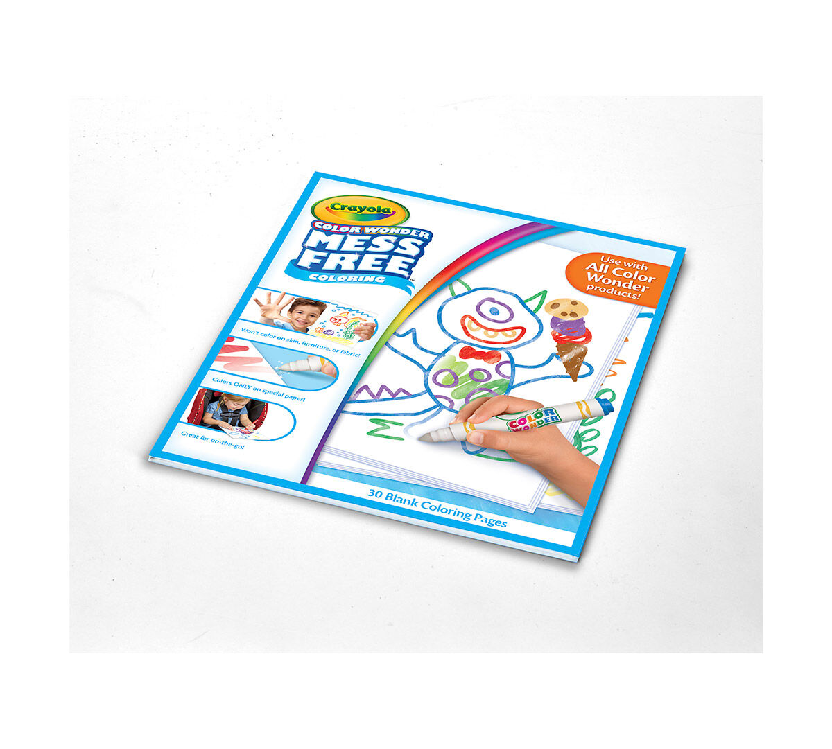 color wonder mess free refill paper