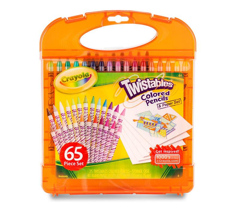 Twistables Colored Pencil & Paper Set